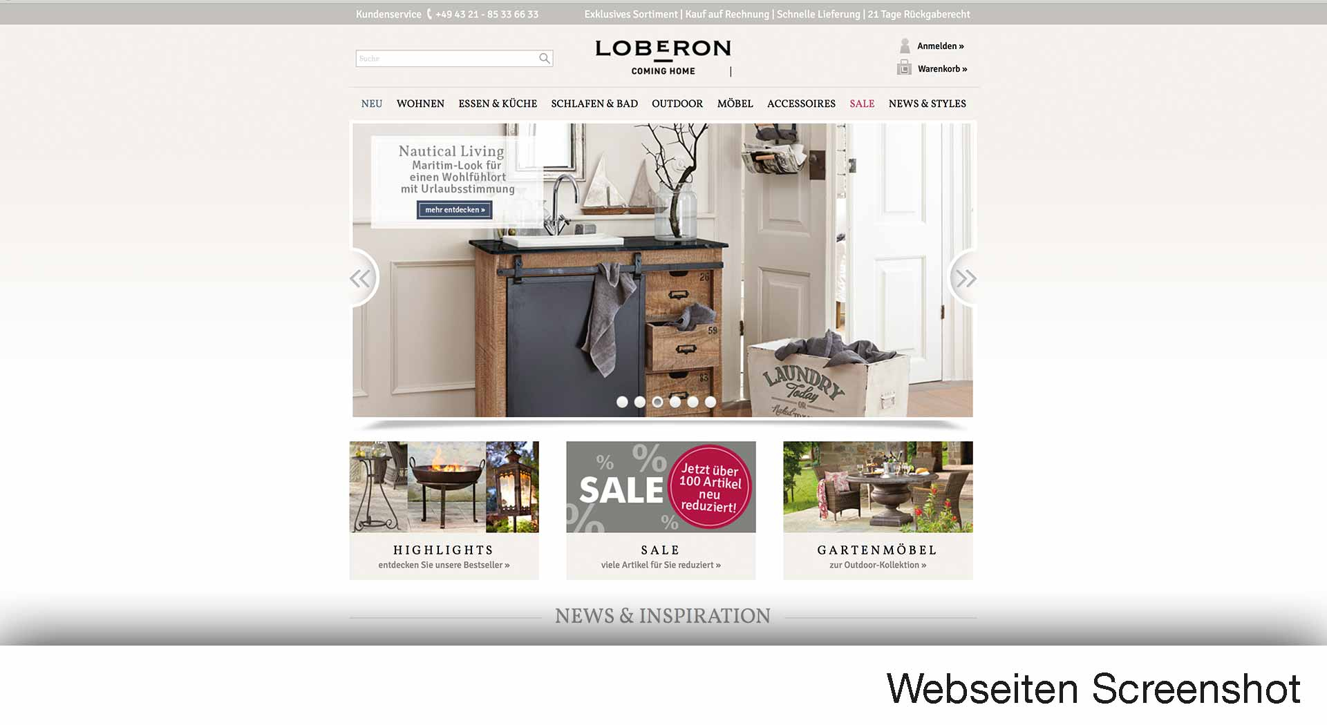 loberon online shop jetzt hier lieblingsartikel. Black Bedroom Furniture Sets. Home Design Ideas