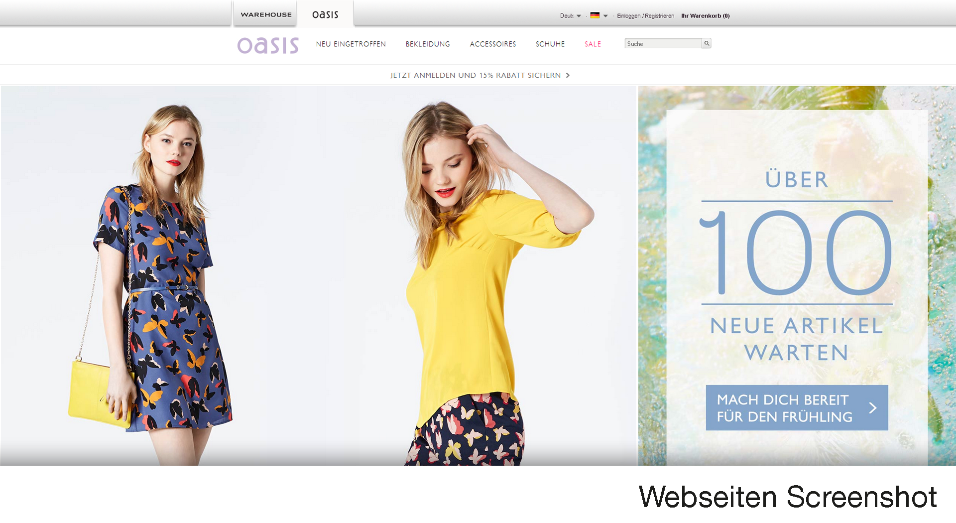 Oasis online shopping