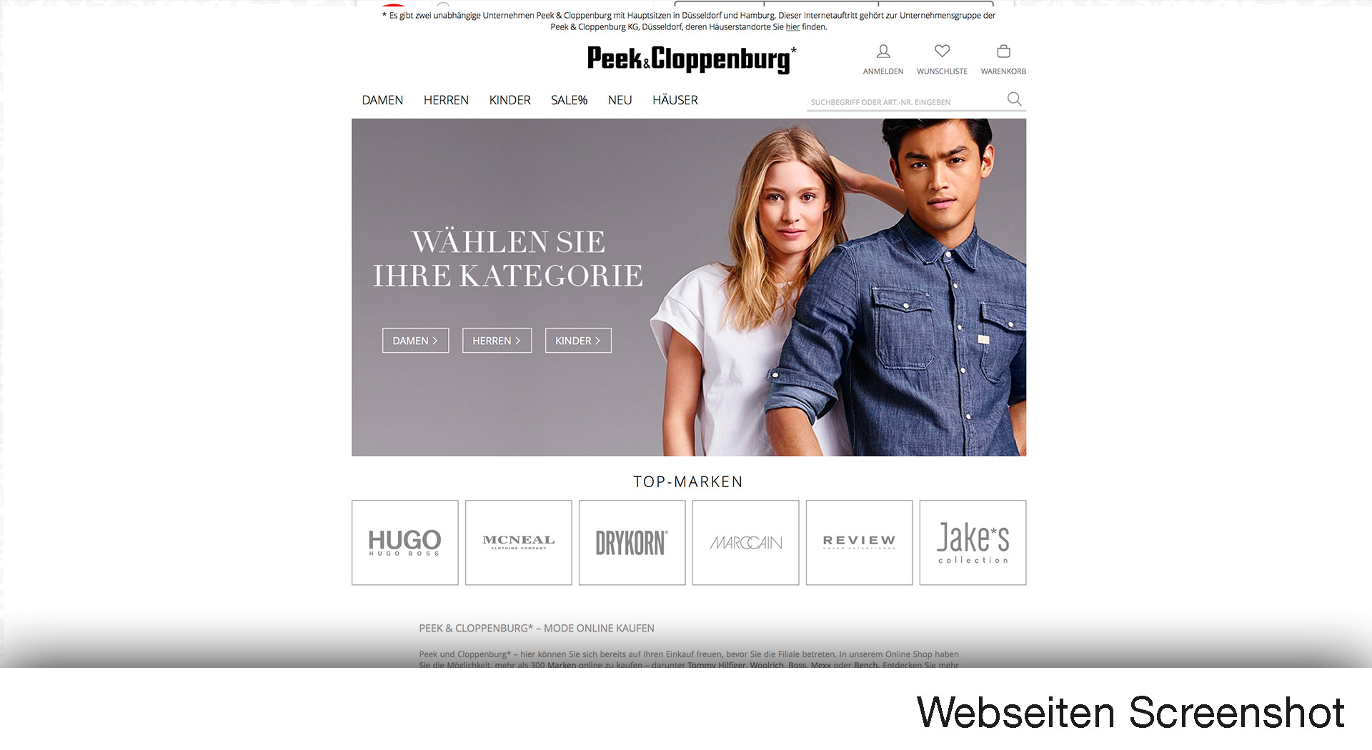 peek cloppenburg online shop jetzt hier. Black Bedroom Furniture Sets. Home Design Ideas