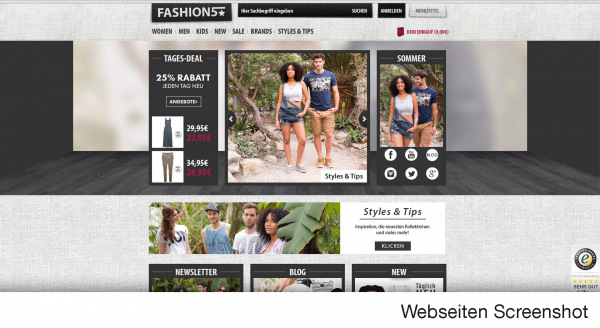 FASHION5 ist dein Onlineshop für Young Fashion!