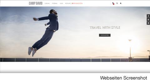campdavid.de – verkörpert hochwertige Menswear-Kollektionen