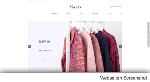 Maerz Online Shop bietet hochwertige Mode für Damen und Herren.