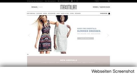 Maximilian - onlineshop - passion for fashion