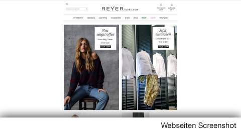 Internationale Designermode und Urban Trends im Fashion Online Shop REYERlooks.com!