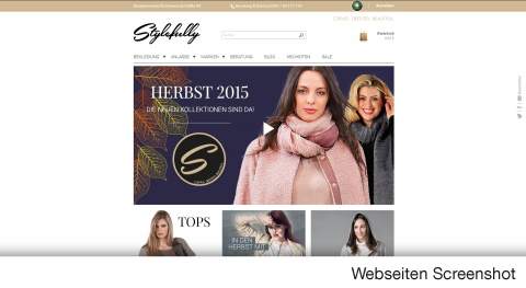 Stylefully.de – CURVES. DRESSED. BEAUTIFUL.
