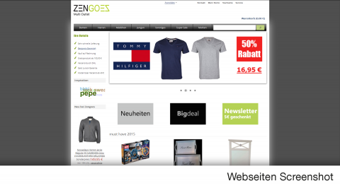 Zengoes-Online - der Outlet Shop